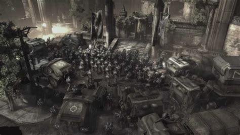 More On Battle Speeches 2 by Gears Of War 2 Chairman Prescott S Speech Cutscene