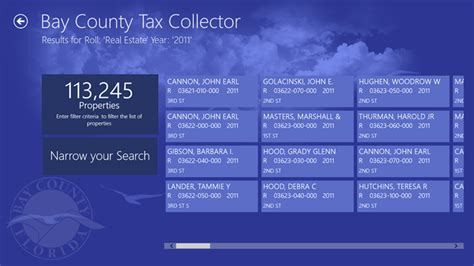 Ms Property Tax Records The Government App Bay County Tax Collector Debutes