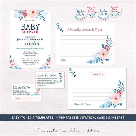 printable invitation kits baby shower baby shower invitation kits gangcraft net
