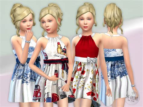 tsr sims 4 clothes sports lillka s designer dresses collection p12