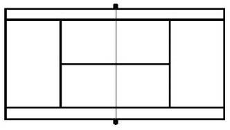 tennis court template blank tennis court diagram clipart best