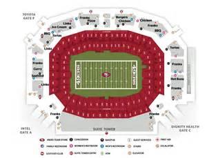 maps levi s 174 stadium