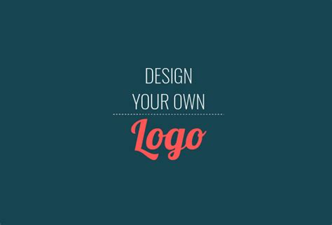 design logo using your own image how to design a logo free step by step guide