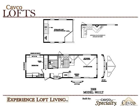 breckenridge park model floor plans cavco loft units park models the finest quality park