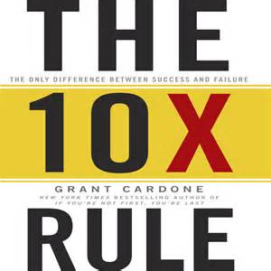 download the tenx rule audiobook by grant cardone for just