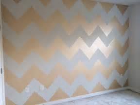 Glaze paint gold chevron and chevron walls on pinterest