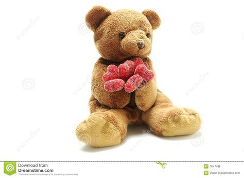 imagenes de osos de peluche de amor para dibujar oso del peluche en amor foto de archivo imagen de regalo