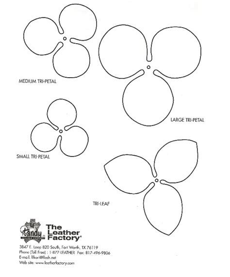 leather roses patterns and templates leatherworker net