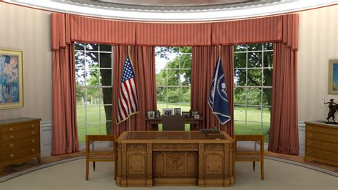 oval office windows joshua houser 3d modeler and technical artist portfolio