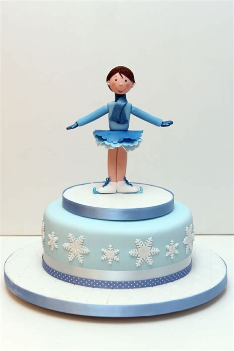 63 best images about figure skating cake on pinterest