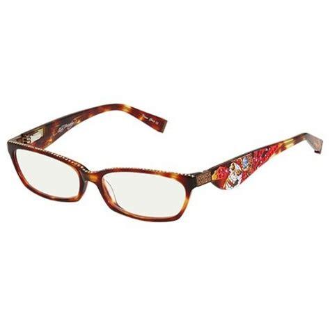 tattoo eye glasses ed hardy ehr203 reading eyeglasses vintage tattoo ehr 203