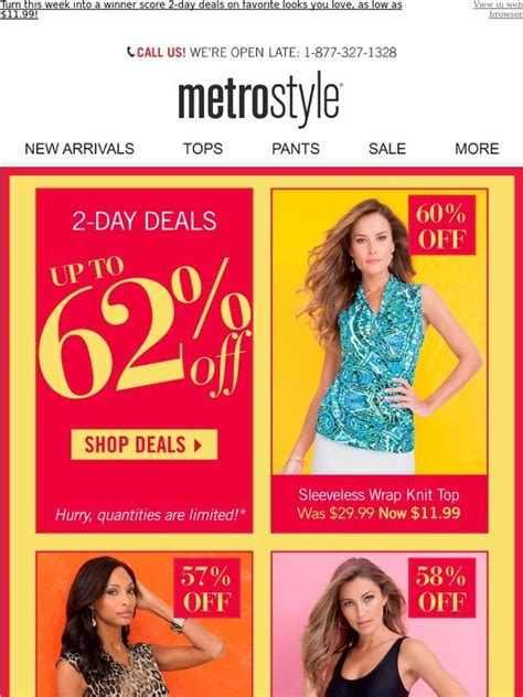 metrostyle: ? 2 Day Deals! Up to 62% off favorites   Milled