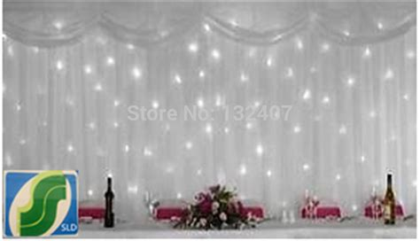 wholesale cheap backdrop white ice silk wedding backdrop