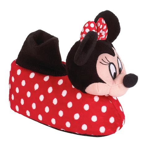 minnie slippers for toddlers disney toddler minnie mouse socktop slipper multi