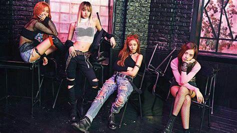 black pink nike photoshoot black pink hits big milestone with boombayah mv sbs