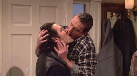 Sick Segel jason segel kisses paul rudd on saturday live