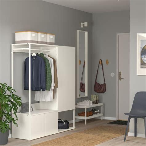 platsa wardrobe   doors white fonnes white ikea