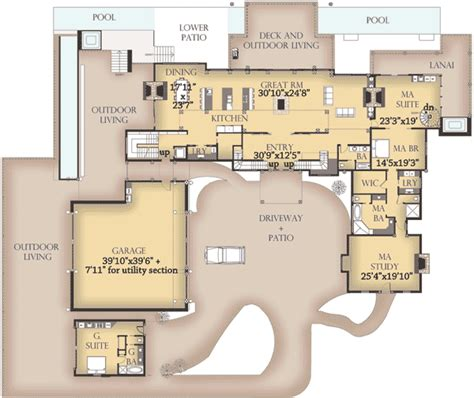 Western Homes Floor Plans | beautiful western house plans 6 western style floor plans