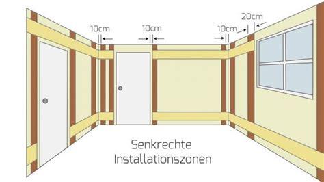 decke 50 x 50 elektro installationszonen nach din 18015 3 ratgeber
