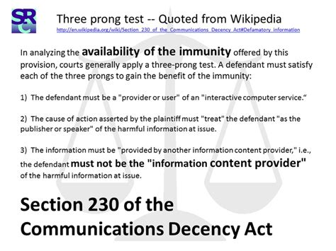section 230 communications decency act pin by amy stark on research pinterest
