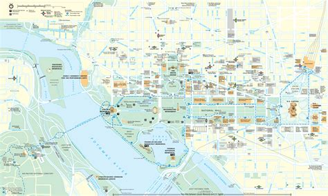 washington dc on a map maps update 700495 tourist map of washington dc