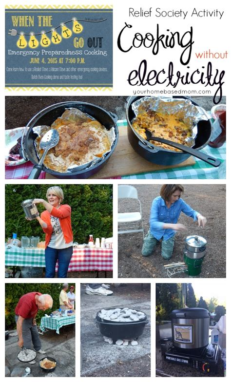 cooking without electricity emergency preparedness your