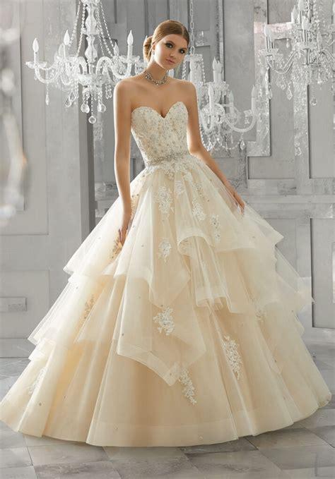 moira wedding dress style  morilee