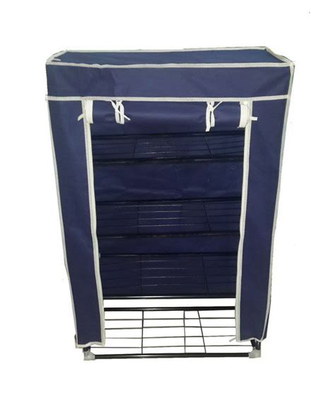 collapsible 4 tier shoe rack buy at best price in
