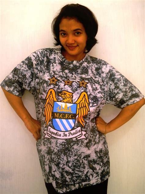 Kaos Manchester City Fc by Kaos Batik City Pola 2 Toko Bola