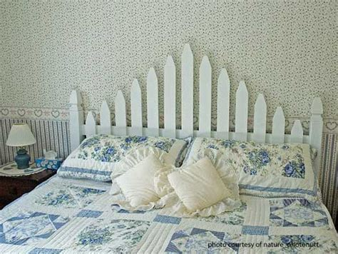 white picket fence headboard picket fence ideas for instant curb appeal