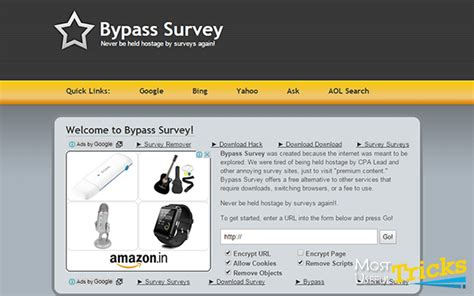 Survey Websites Free - how to bypass online surveys for free 100 working