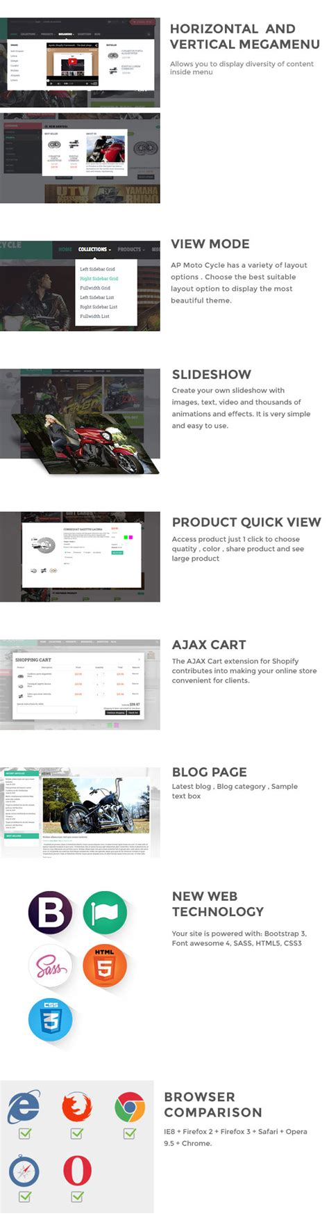 shopify themes download free ap motor store shopify theme