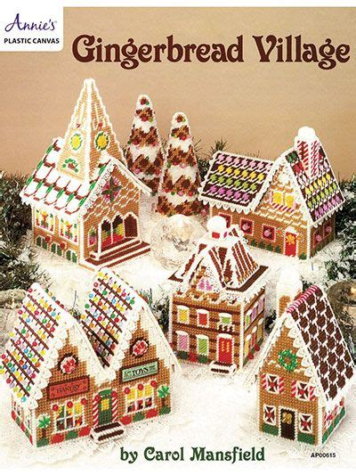 Pattern For Christmas Village   what says christmas better than a gingerbread house