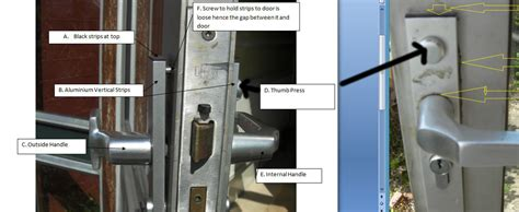How To Remove Locked Door Knob by Upvc Union Monarch Lock How To Remove And Replace