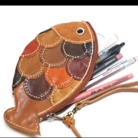 Handmade Leather Coin Purse - 59 handmade handbags handmade fish leather coin