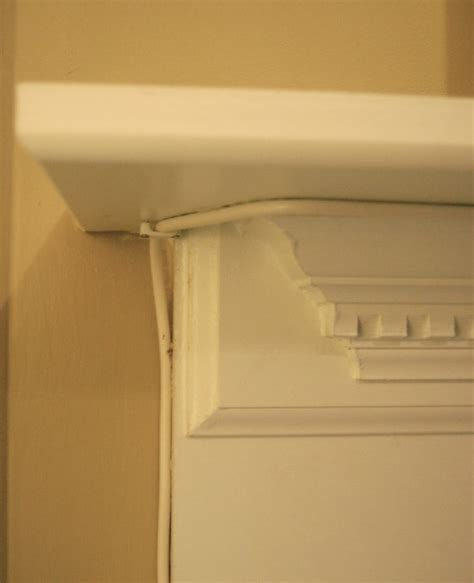 baseboard cable cover alternatives to moving the cable outlet