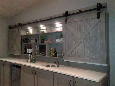 Mid Century Modern Kitchen Remodel Ideas architectural accents sliding barn doors for the home