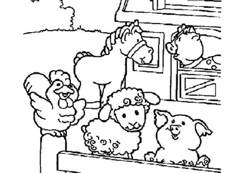 cute baby farm animals coloring page coloring pages free coloring pages of farm wall 180 bestofcoloring com