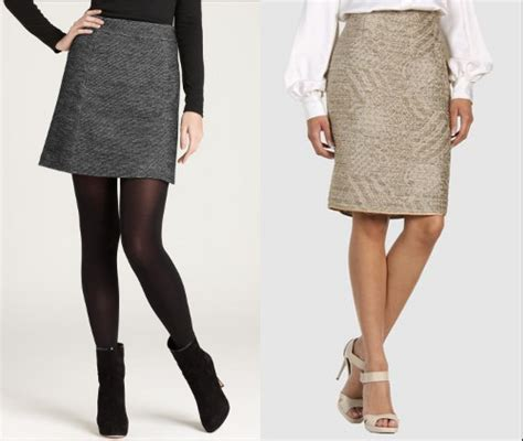 best fall skirt trends for pear shaped figures