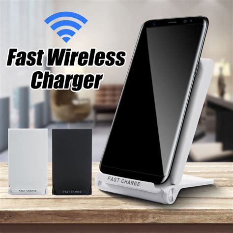 Wireless Desktop Stand Charger Fast Charging Scienorm N1 Qi Original q600 qi wireless fast charger stand desktop holder for samsung s7 s8 iphone 8 sale banggood