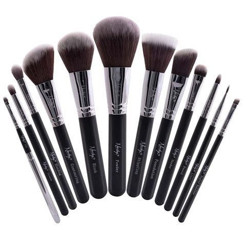 makeup brushes buy masterful collection onyx black make up brush set