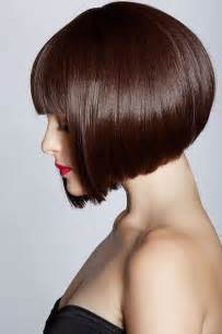 inverted bob hairstyles with fringe pretty inverted bob with blunt bangs styles weekly