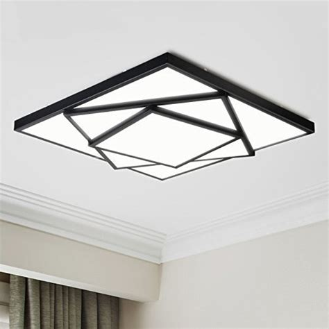 geometric ceiling light electro bp modern simple metal ceiling light geometric