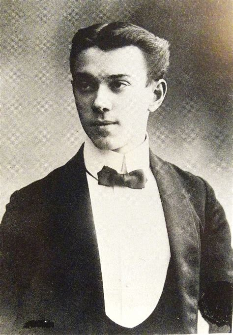 Vaslav Nijinsky At Age 18 When He Signed A Contract With D