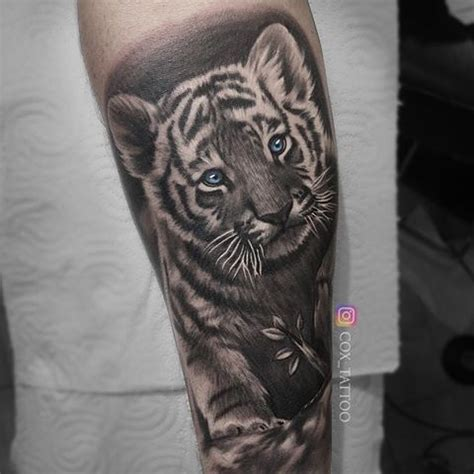baby tiger tattoo 60 best baby tiger cubs tattoos designs with meanings