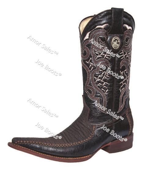 imagenes de botas vaqueras hombre joe boots jb 640 black brown exotic boots botas