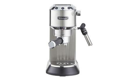 delonghi espresso maschine delonghi espresso maschine ec 685 m dedica edelstahl