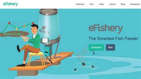 Alat Pakan Udang Otomatis teknologi efishery buatan startup asal bandung okezone