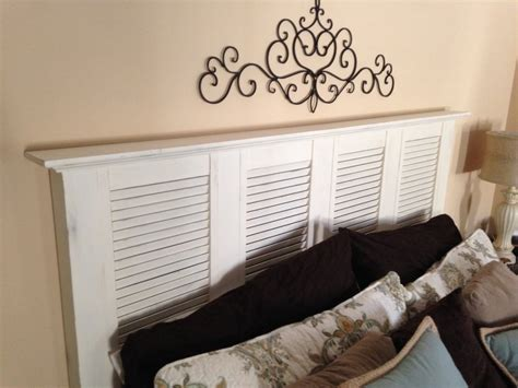 shutter bed king size shutter headboard by chris mcdowell