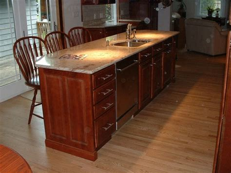 kitchen island with dishwasher and sink kitchen island kitchen pinterest